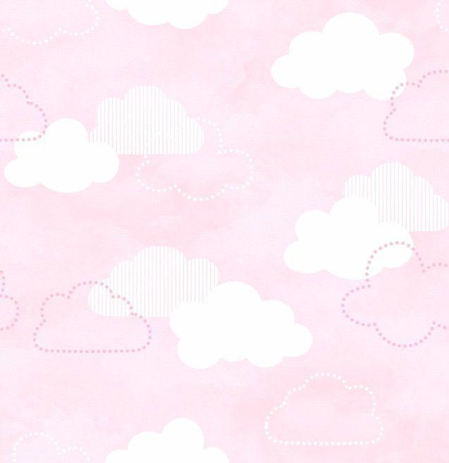 Papel de Parede Nuvens 8EE8BF