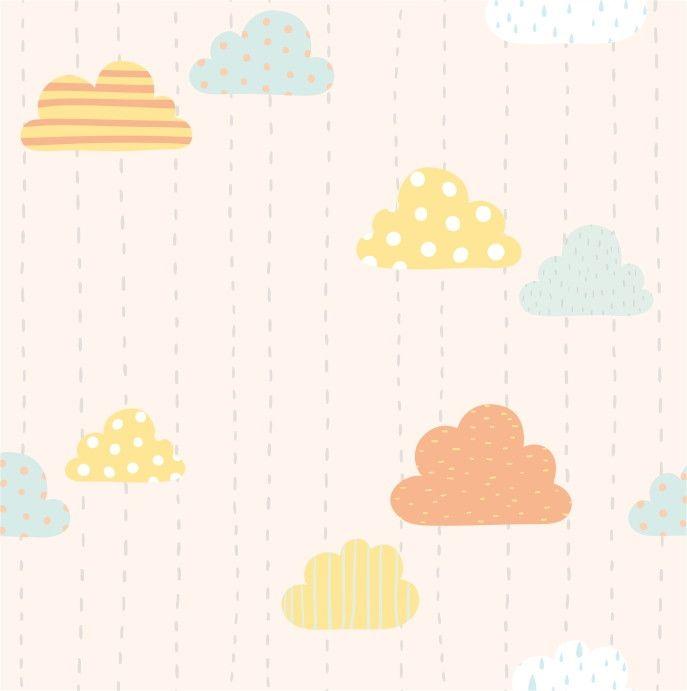 Papel de Parede Nuvens 9D3D34