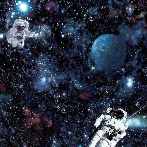 Papel de Parede Planetas, Estrelas e Astronautas 10A2577