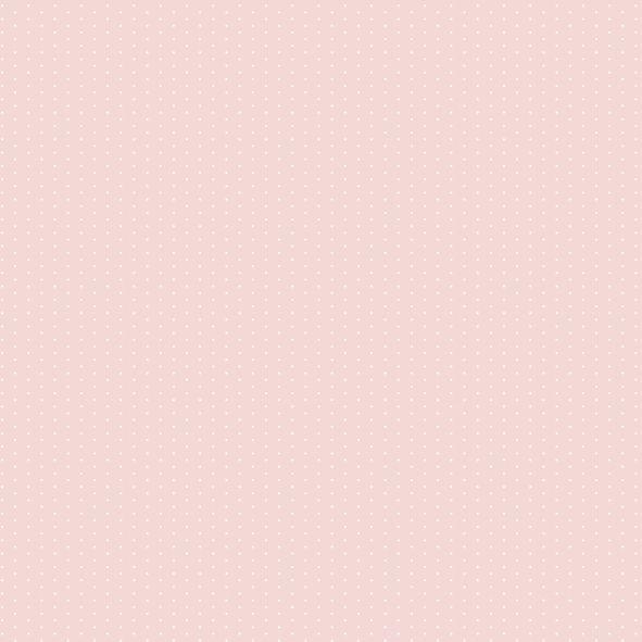 Papel de Parede Rosa com Bolinhas Poás FC3D44