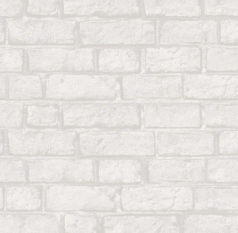 Papel de Parede Tijolinhos Branco AAED7F