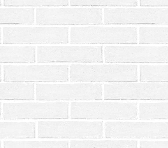 Papel de Parede Tijolinhos Branco 997FFC