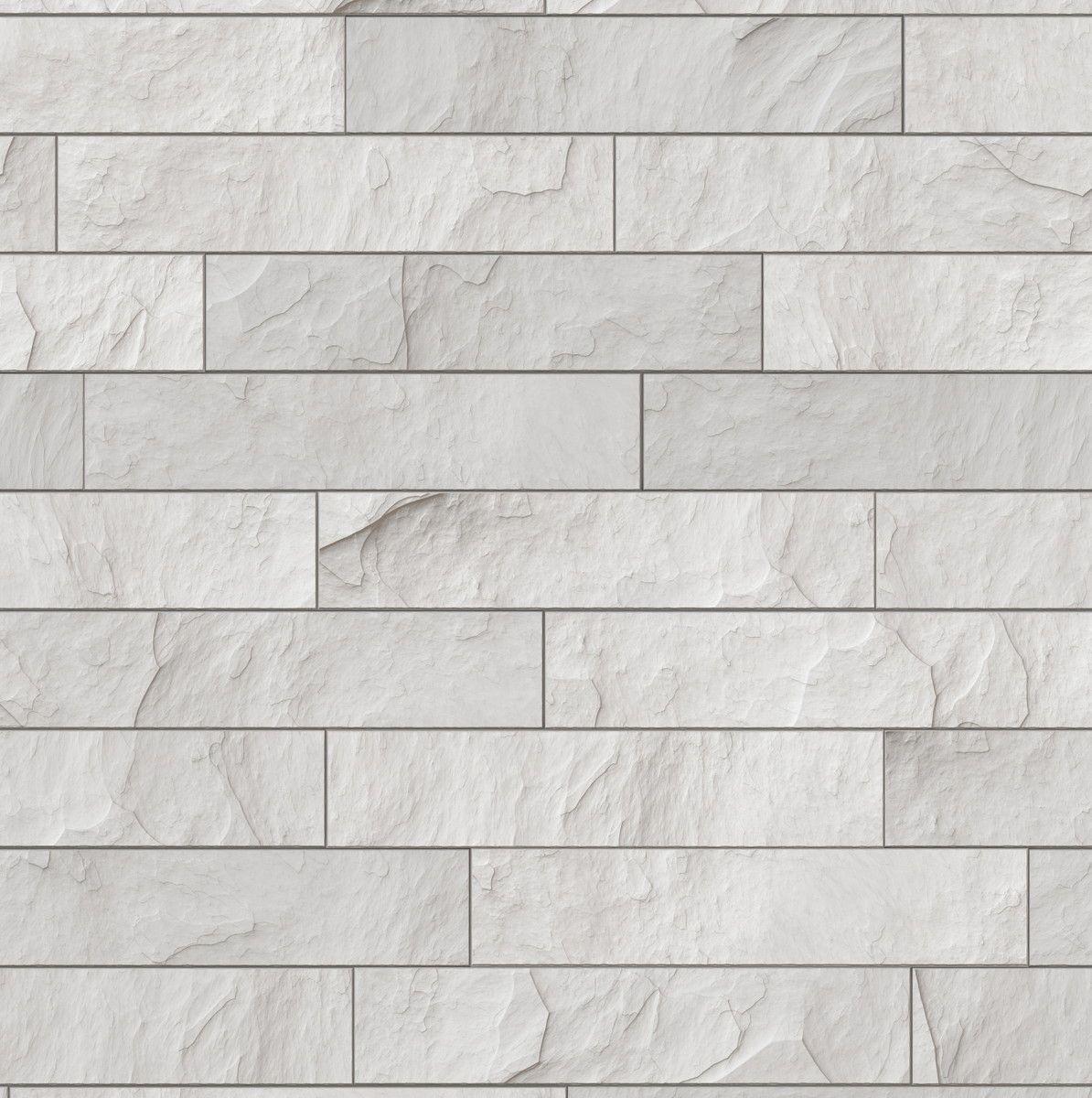 Papel de Parede Tijolinhos Branco 6CCA48