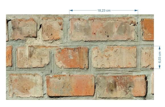 Papel de Parede Tijolinhos 67708A