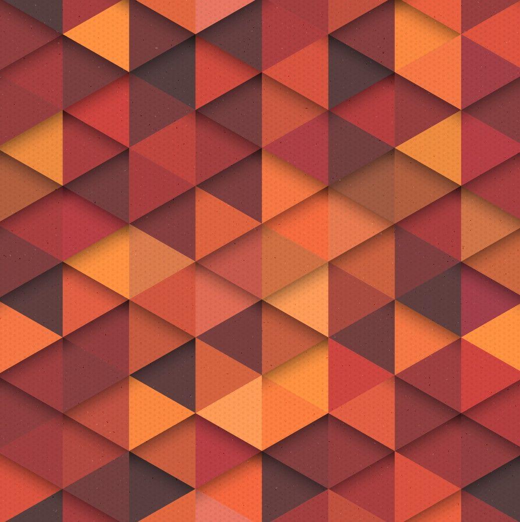 Papel de Parede Geométrico Triângulos 6601BB
