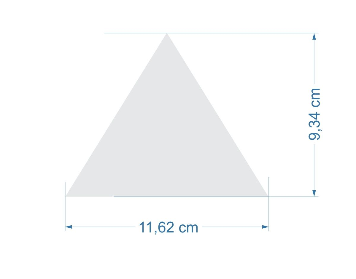 Papel de Parede Geométrico Triângulos 6666CF