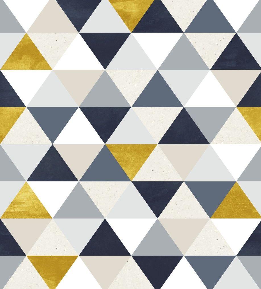 Papel de Parede Geométrico Triângulos 666610