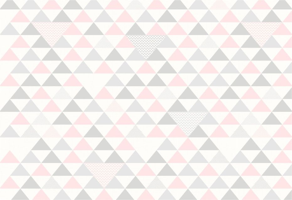 Papel de Parede Geométrico Triângulos 955AFB