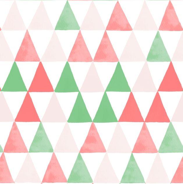 Papel de Parede Geométrico Triângulos B844AF