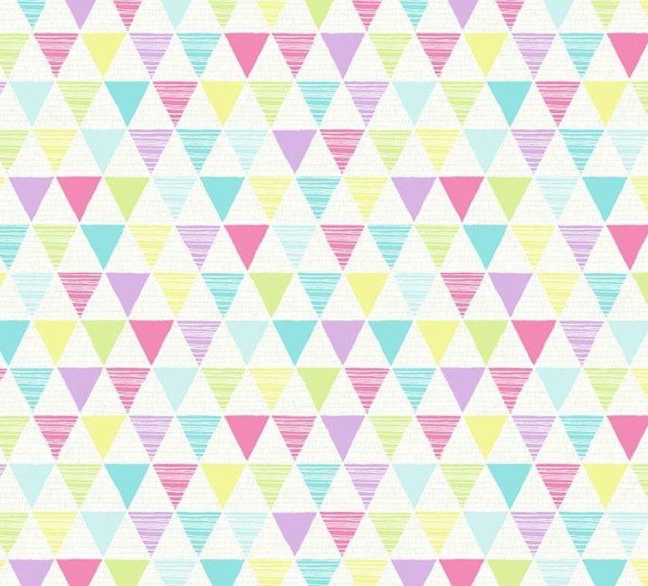 Papel de Parede Geométrico Triângulos B220D5