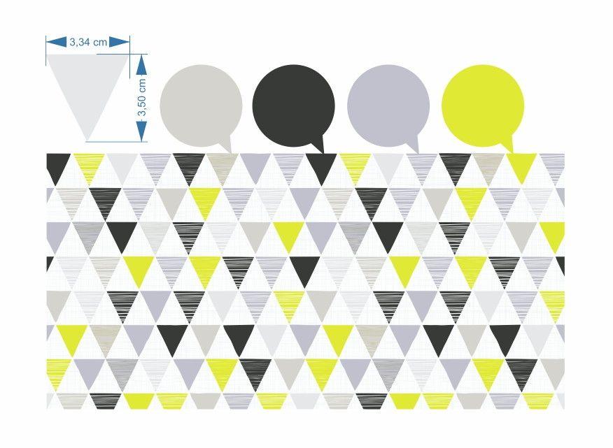 Papel de Parede Geométrico Triângulos B220F9