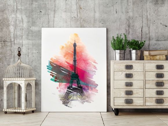 QUADRO DECORATIVO PARIS TORRE EIFFEL 6D5ED0