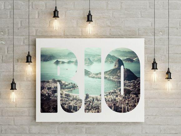 Quadro Rio de Janeiro 4DE323