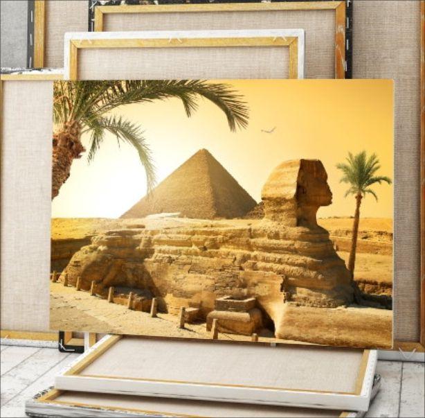 QUADRO DECORATIVO EGITO ESFINGE 6D5C34