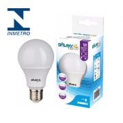 LAMPADA LED BULBO  A60   9W AM 3000K NBR