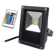 Refletor Super LED 10 W RGB bivolt