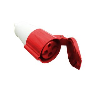 Acoplamento 4P 32A 4256 Vermelho 380V