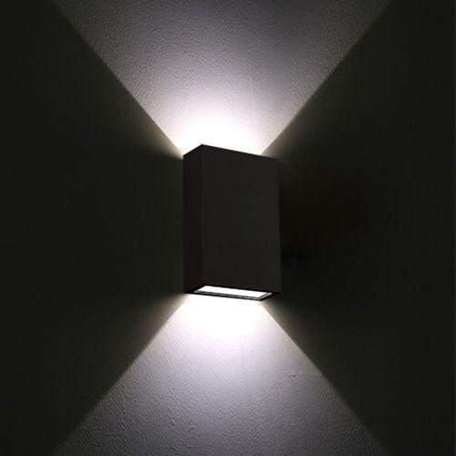 Arandela Double LED Preta