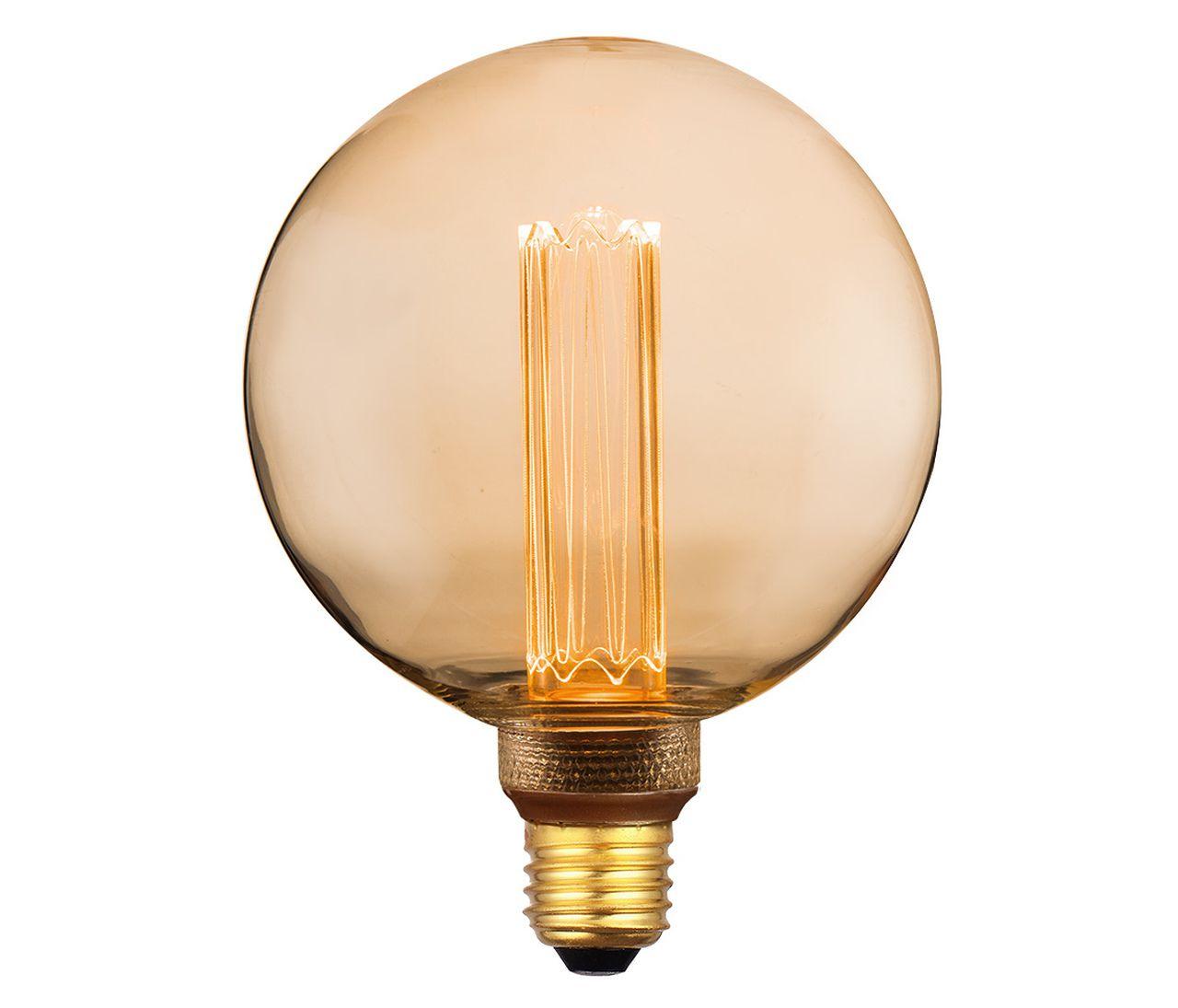 LÂMPADA DECORATIVA LED G125 2.5 W BRANCO QUENTE BIVOLT