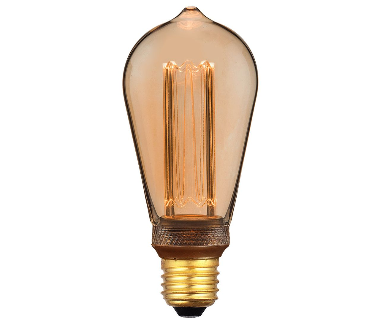 LÂMPADA DECORATIVA LED ST64 2.5 W BRANCO QUENTE BIVOLT
