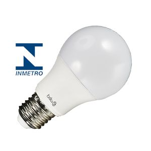 Lâmpada led 12 W bulbo branco quente bivolt