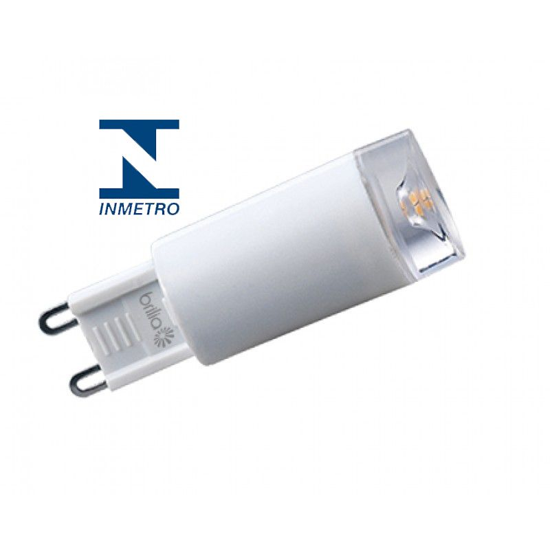 LAMPADA HALOG HALOPEEN LED 2.5W G9 AM