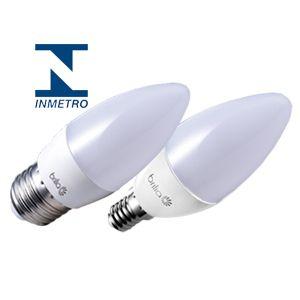 LAMPADA VELA LED LT E14 3W 2700 4109 NBR