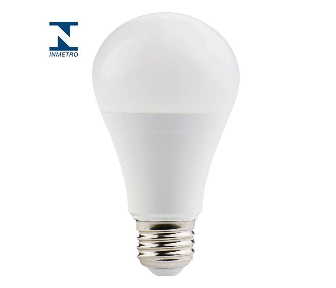 Lâmpada LED Dimerizável 12 W Bulbo Branco Quente Bivolt