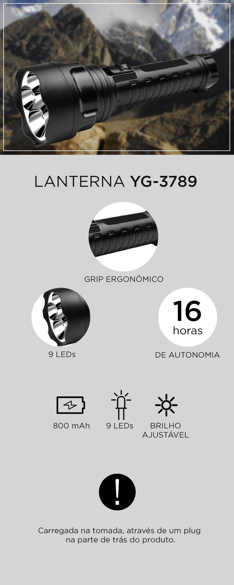 Lanterna YG-3789