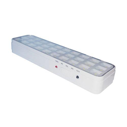 Luminária de emergência Slim LED Bivolt