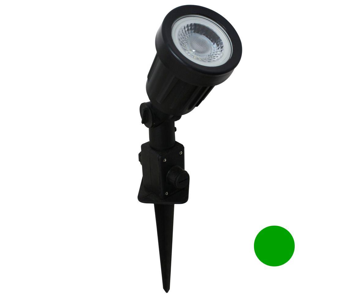 Luminária Espeto LED 5 W Verde