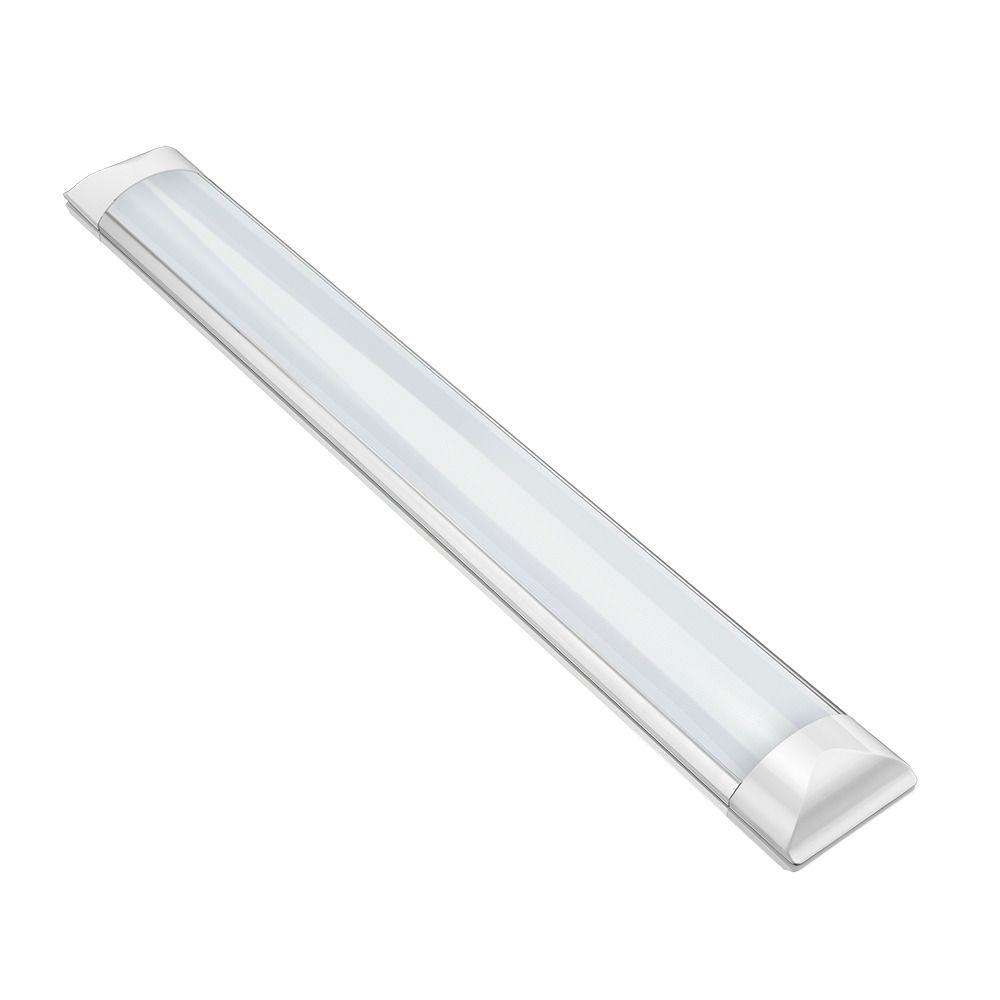 Luminária LED Slim 18 W sobrepor branco frio bivolt