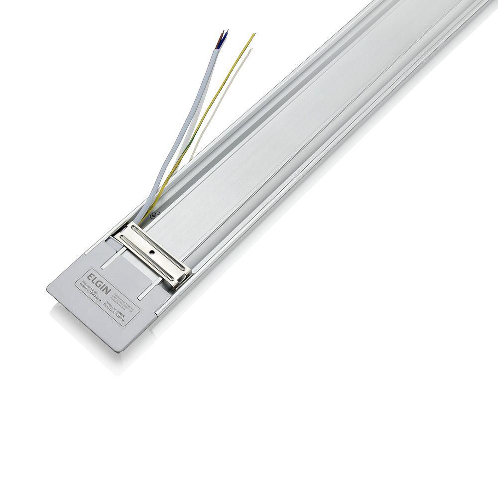 Luminária LED Slim 9 W sobrepor branco frio bivolt