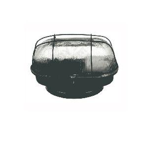 Luminária Tartaruga de chapa preta