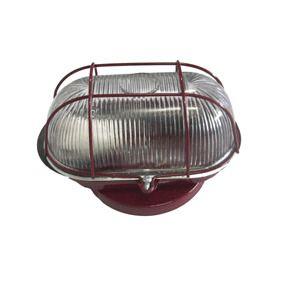 Luminária Tartaruga de chapa vinho