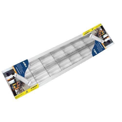 LumináriaLED Slim embutir 2x10W completa