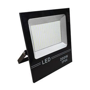 Refletor Super LED 200 W branco frio bivolt