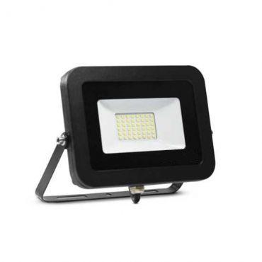 Refletor Super LED 20 W branco frio bivolt