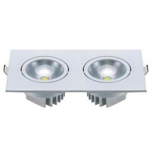 SPOT LED EMB   DUPLO 2X5W BF L3055B