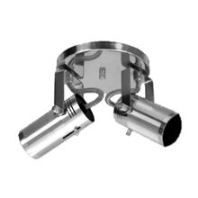 Spot externo de alumínio escovado 201/2