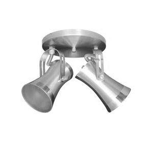Spot externo de alumínio escovado 376/2