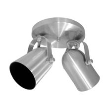 Spot externo de alumínio escovado 378/2