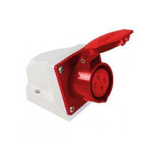 Tomada Externa 4P 16A 4006 Vermelho 380V