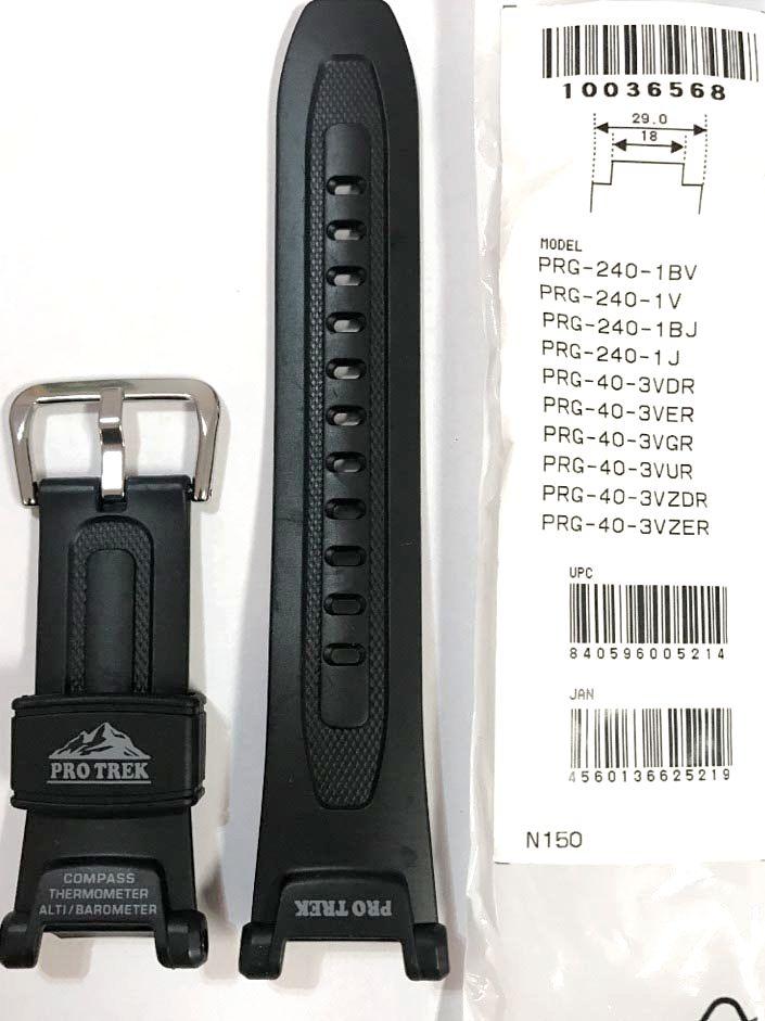 10036568 Pulseira  Casio Protrek PRG-240 PRG-40 - Peça 100% Original  - E-Presentes