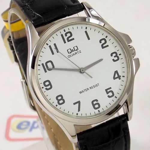 Relógio Masculino Pulseira Couro Q&q QA06J304Y (maq Citizen)  - Alexandre Venturini