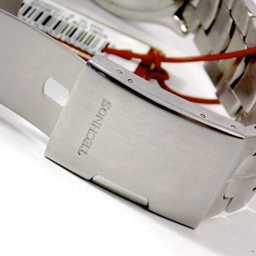 Relogio Masculino Technos Legacy Prata Branco 6Q29EC/1K Aço  - Alexandre Venturini