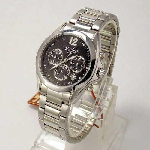 OS20CZ-1P Relógio Technos Cronografo Tamanho Médio 38mm  - E-Presentes