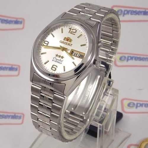Relógio Orient Automático Prateado Masculino 36mm FEM6Q00FW9  - Alexandre Venturini