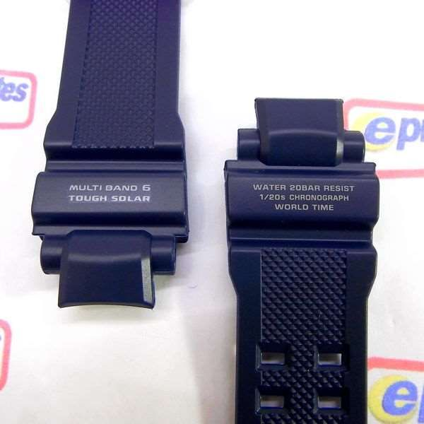 c54366601a7 ... Pulseira Casio G-shock Resina Azul - GW-A1100-2AV - 100% ...
