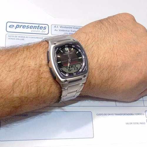 AW-81D Relogio Casio Ana-digi 3alarmes Wr 50m 100% Original  - Alexandre Venturini